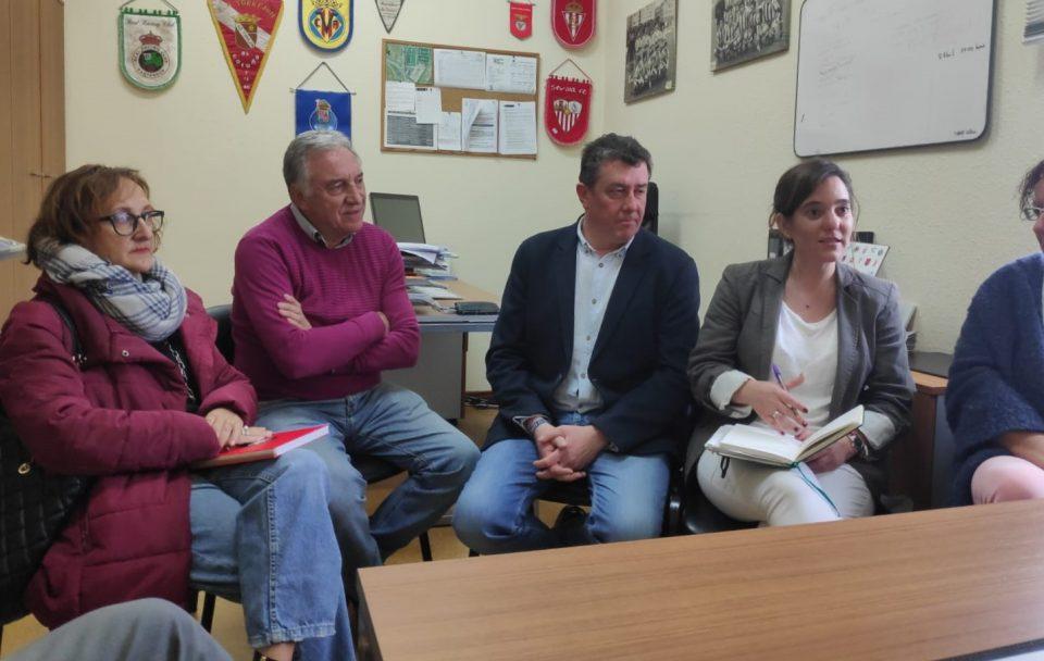 Inés Rey, reunión con AFAC